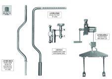 4100-SPLN-S2810 Combination Clamp, Spline Post, Single Set
